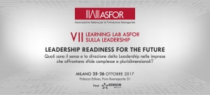 VII Learning Lab ASFOR sulla Leadership